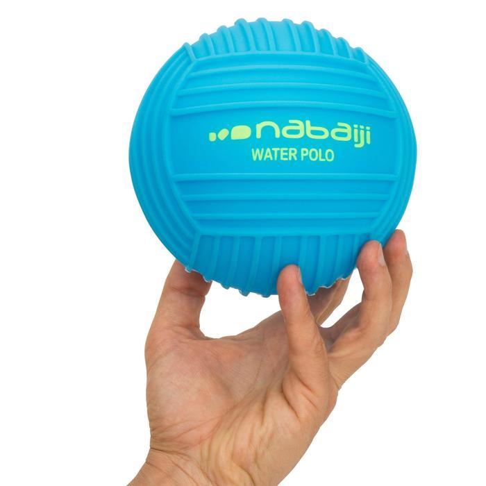 Petit ballon piscine adhérent uni bleu - 1052476