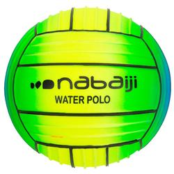 Grote bal met grip voor het zwembad, rainbow groen