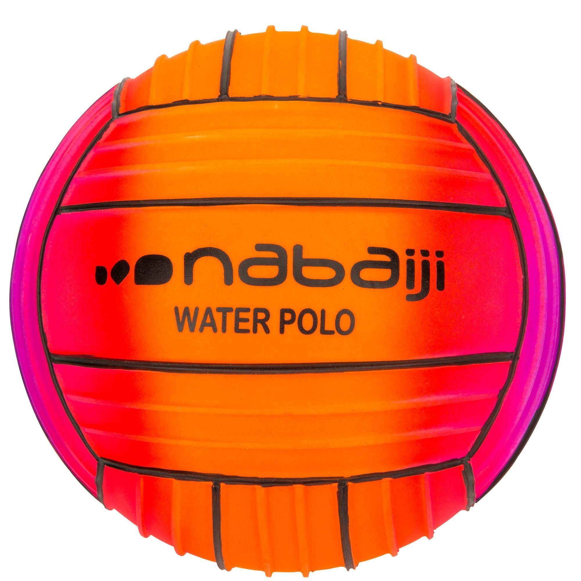 Wasserball rutschfest rainbow rot | 03583788287742