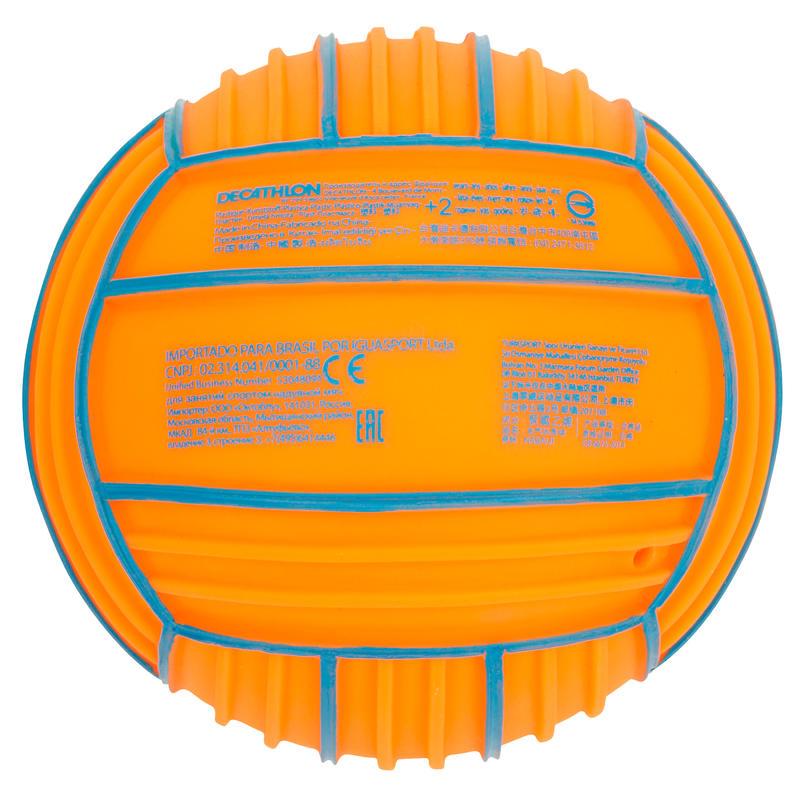 Petit ballon piscine orange