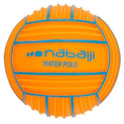 Pelota pequeña piscina adherente naranja