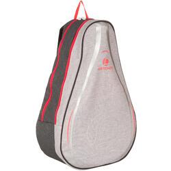 Sportrugzak voor rackets Artengo BP100 grijs/roze