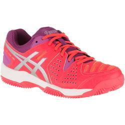 Padel schoenen dames Gel-Padel Pro 3 SG roze/oranje