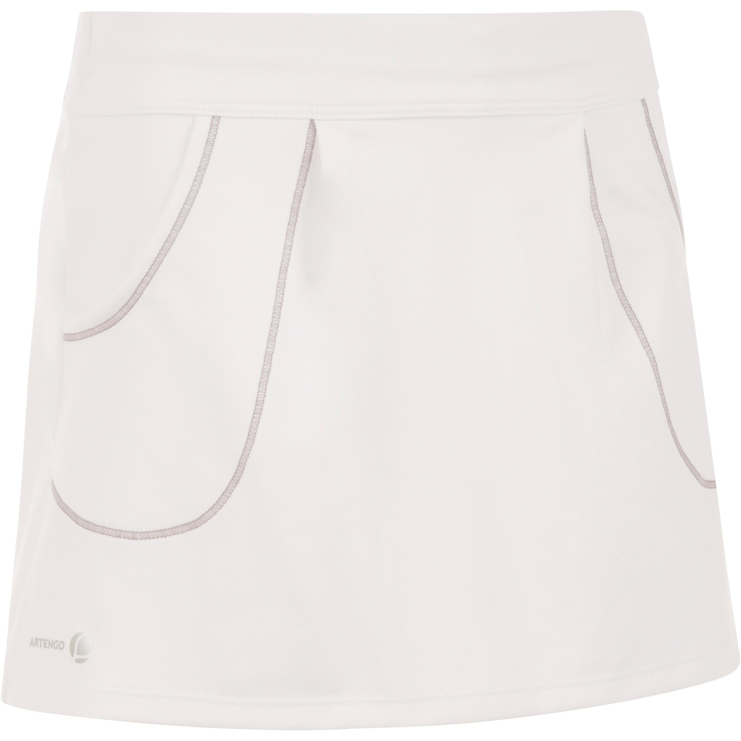 Rok Tenis, Badminton, Padel, Tenis Meja, Squash Pocket 100 - Putih