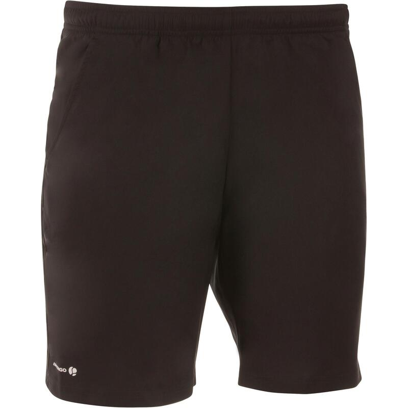 Pánské šortky Soft na raketové sporty 500 černé