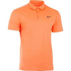 Sportshirt racketsporten net polo heren oranje