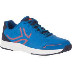 Padelschuhe PS830 Herren blau/orange