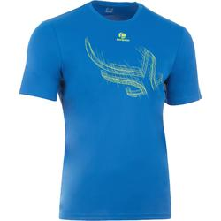 Tennis T-shirt heren Soft 100 blauw