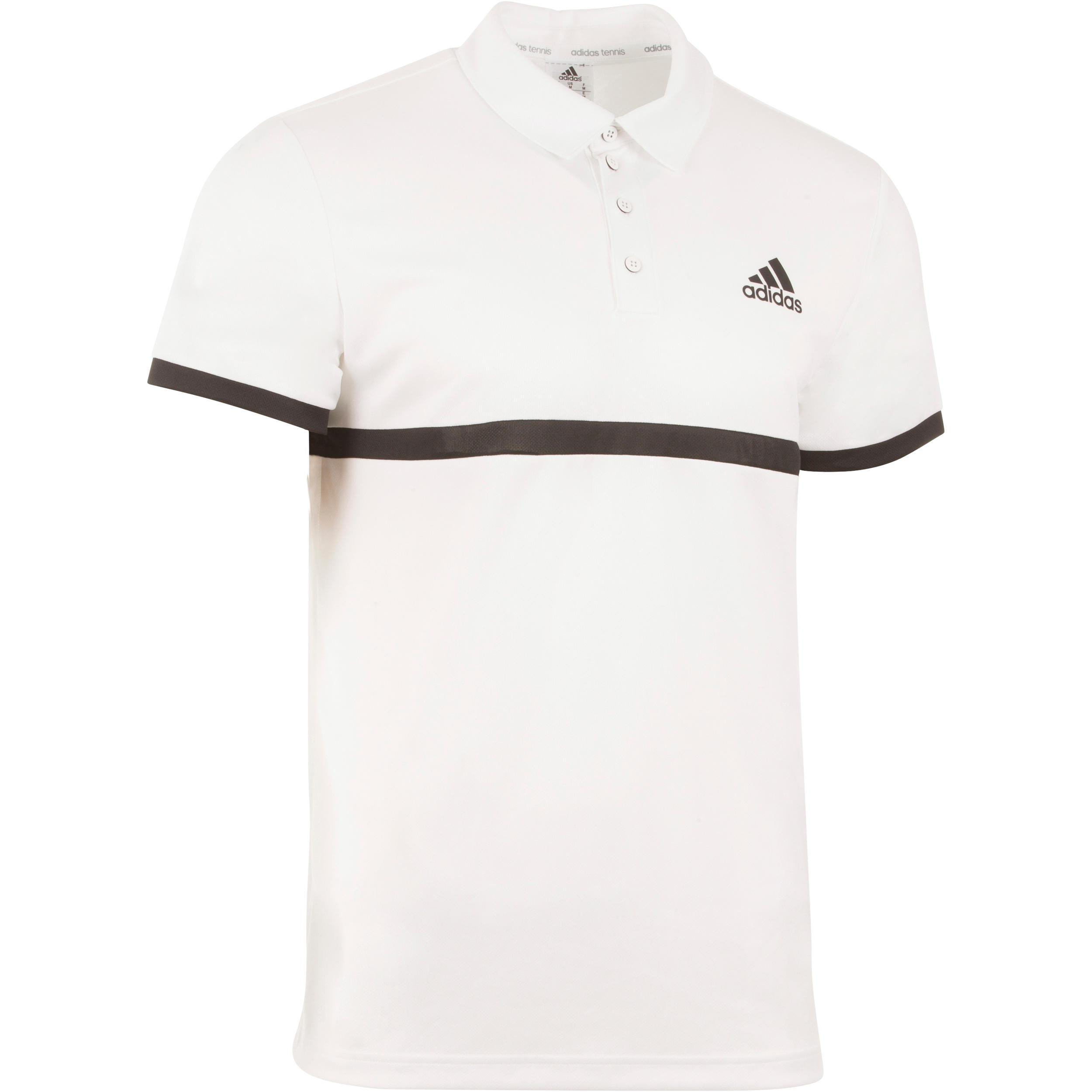 Polo racketsport Adidas court wit