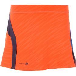 860 Women's Badminton Skirt - Light Blue
