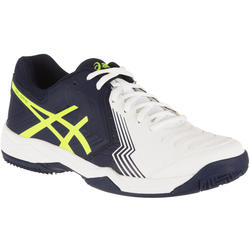 Tennisschoenen heren Gel Game 5 gravel wit/blauw