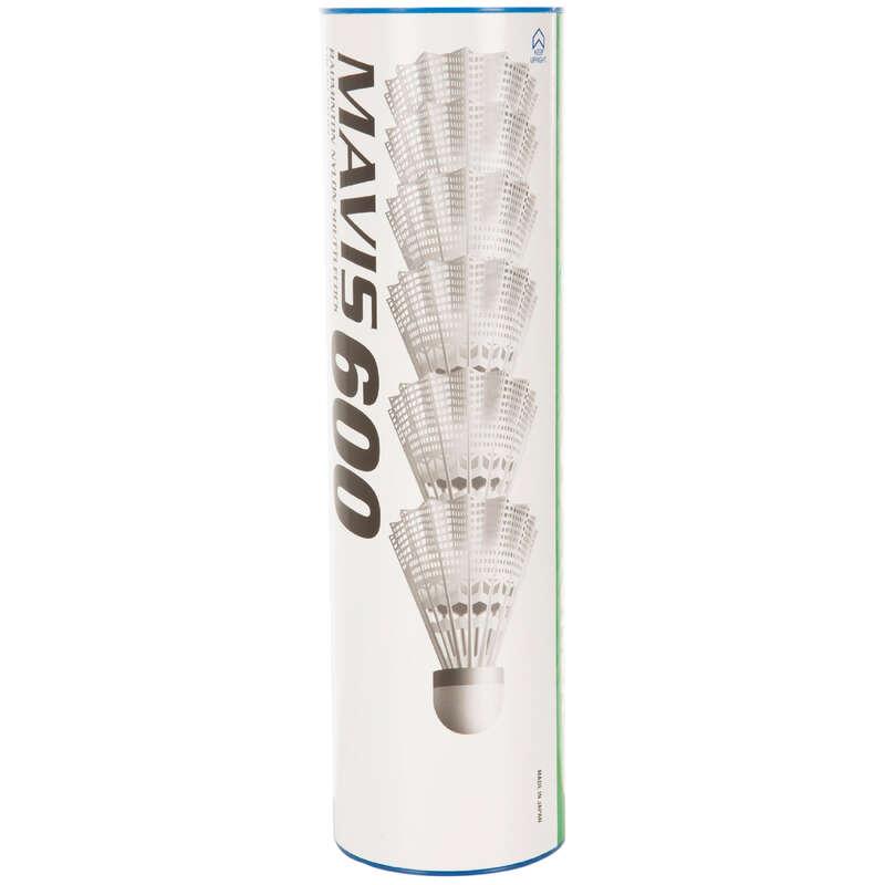 Fluturaşi badminton Sporturi cu racheta - Tub 6 Fluturași Mavis 600  YONEX - Echipament badminton