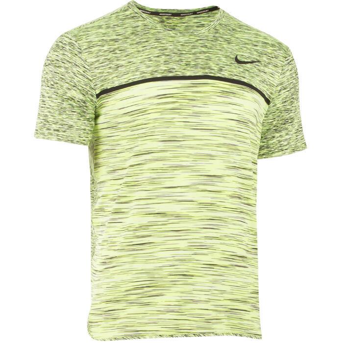 T-shirt tennis Nike Challenger Top geel