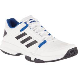 Tennisschoenen heren Cloud Foam Court wit grijs blauw
