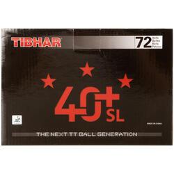 Tafeltennisballetjes 40+SL 3 ster ITTF, 72 stuks wit