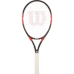 Tennisracket Federer Team 105 zwart/rood