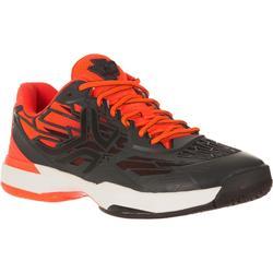 多場地適用款網球鞋TS990-黑色/橘色