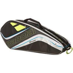 Tennistas RH Team 6 rackets geel/blauw