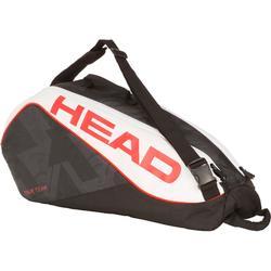 Sporttas voor 6 rackets Head Speed zwart/rood/wit