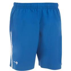 Jongensshort Soft blauw/wit 500 tennis/badminton/tafeltennis/padel/squash