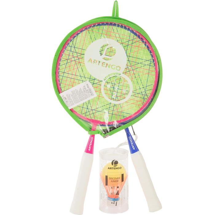 Set Discover Rose Bleu Raquette junior de badminton - 1052830