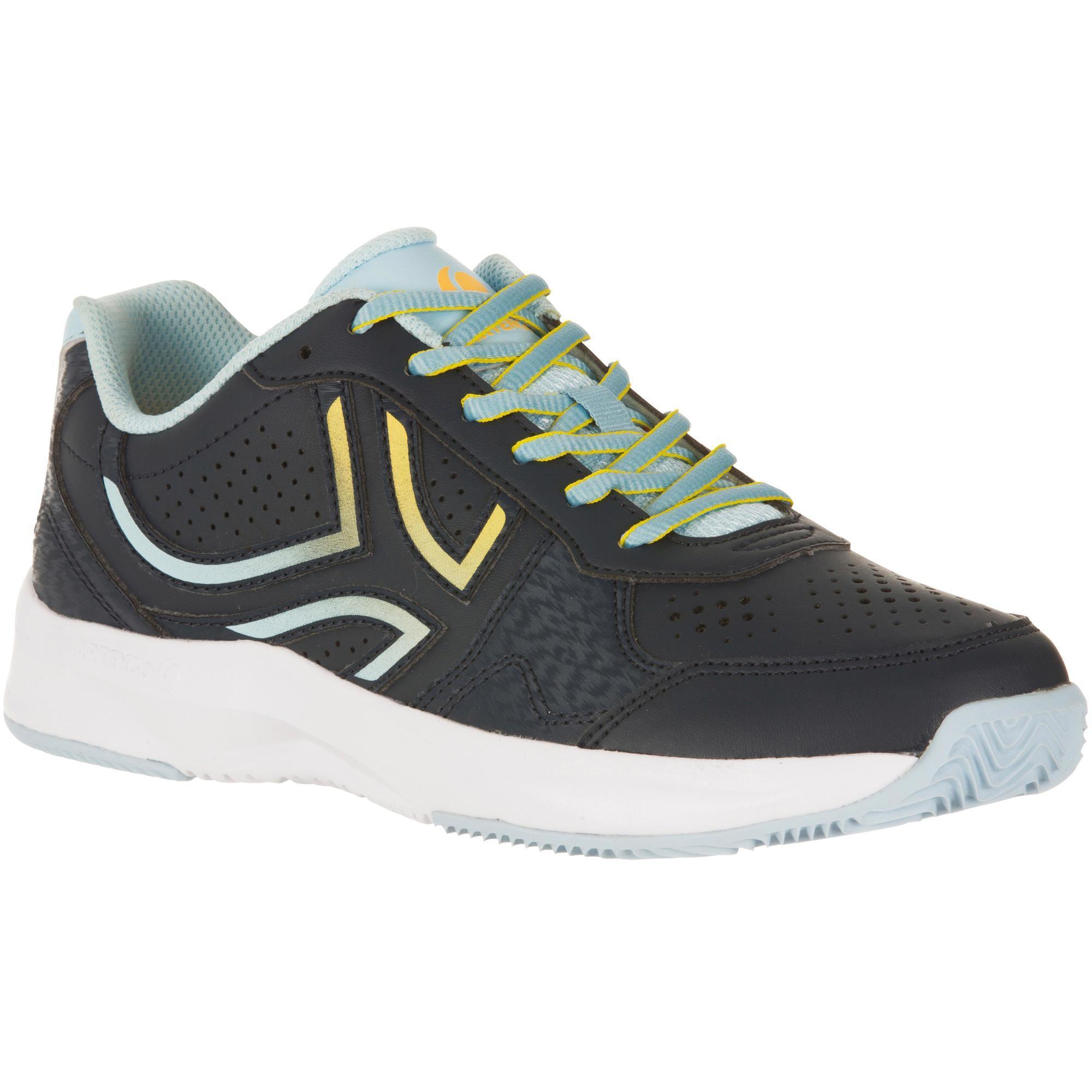 Artengo Tennisschoenen voor dames TS190 gravel blauw/geel
