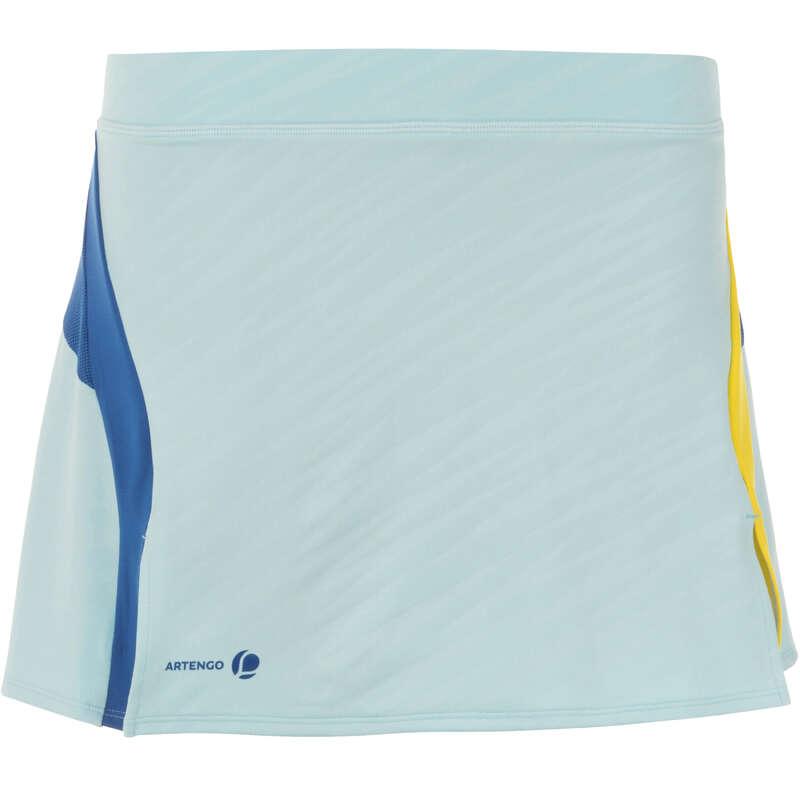 WOMEN'S INTERMEDIATE BADMINTON APPAREL - 860 Women's Skirt - Light Blue PERFLY