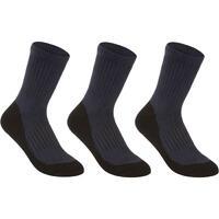 RS 500 High Tennis Socks Tri-Pack - Navy - Kids'