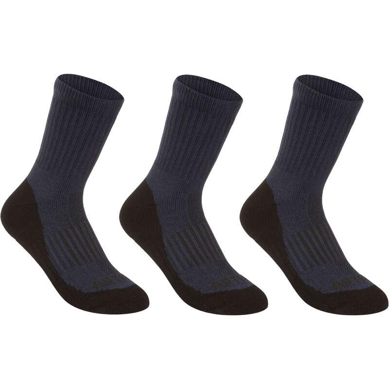 ČARAPE ZA SPORTOVE S REKETOM ZA DJECU Odjeća za školu - Visoke čarape za tenis RS 500 ARTENGO - Odjeća za školu