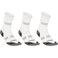 RS 900 High Sport Socks Tri-Pack - White/Grey