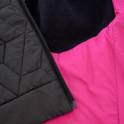 Donsbodywarmer voor trekking dames zwart - 1052893