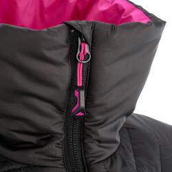 Donsbodywarmer voor trekking dames zwart - 1052895