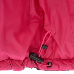 Donsbodywarmer voor trekking dames zwart - 1052898