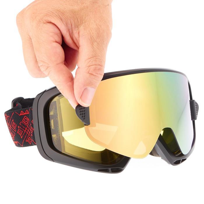 MASQUE DE SKI ET DE SNOWBOARD HOMME G-SWITCH 700 TOUS TEMPS NOIR - 17 - 1052929