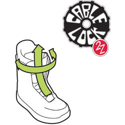 Snowboardboots all mountain heren Bullwhip 500 cable lock zwart - 1052944