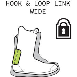 Snowboardboots all mountain heren Bullwhip 500 cable lock zwart - 1052947