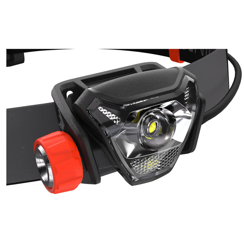 OnNight 710 Trail Running Head Torch 300 Lumens - Black/Orange