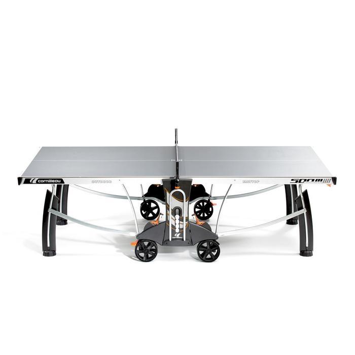 TABLE DE TENNIS DE TABLE FREE CROSSOVER 500M OUTDOOR GRISE - 1053159
