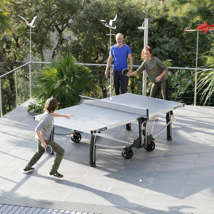 Tischtennisplatte Free Crossover 500M Outdoor grau