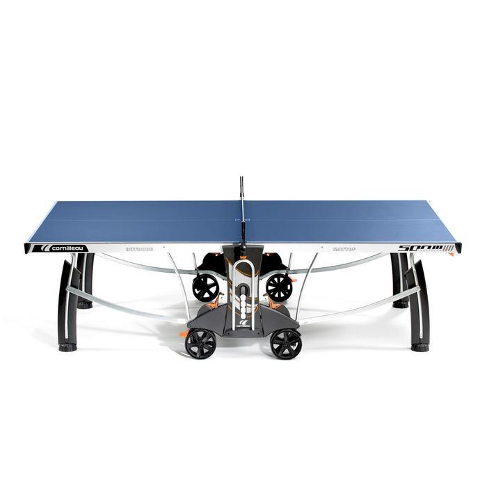 TABLE DE TENNIS DE TABLE FREE CROSSOVER 500M OUTDOOR BLEUE - 1053189