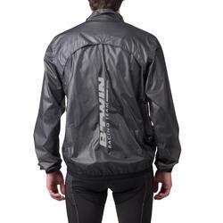 Regenjasje 900 Light voor fietsers, herenmodel, grijs - 1053230