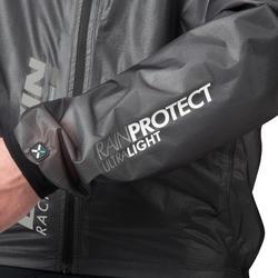 Regenjasje 900 Light voor fietsers, herenmodel, grijs - 1053231