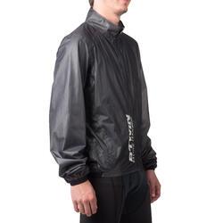 Regenjasje 900 Light voor fietsers, herenmodel, grijs - 1053234