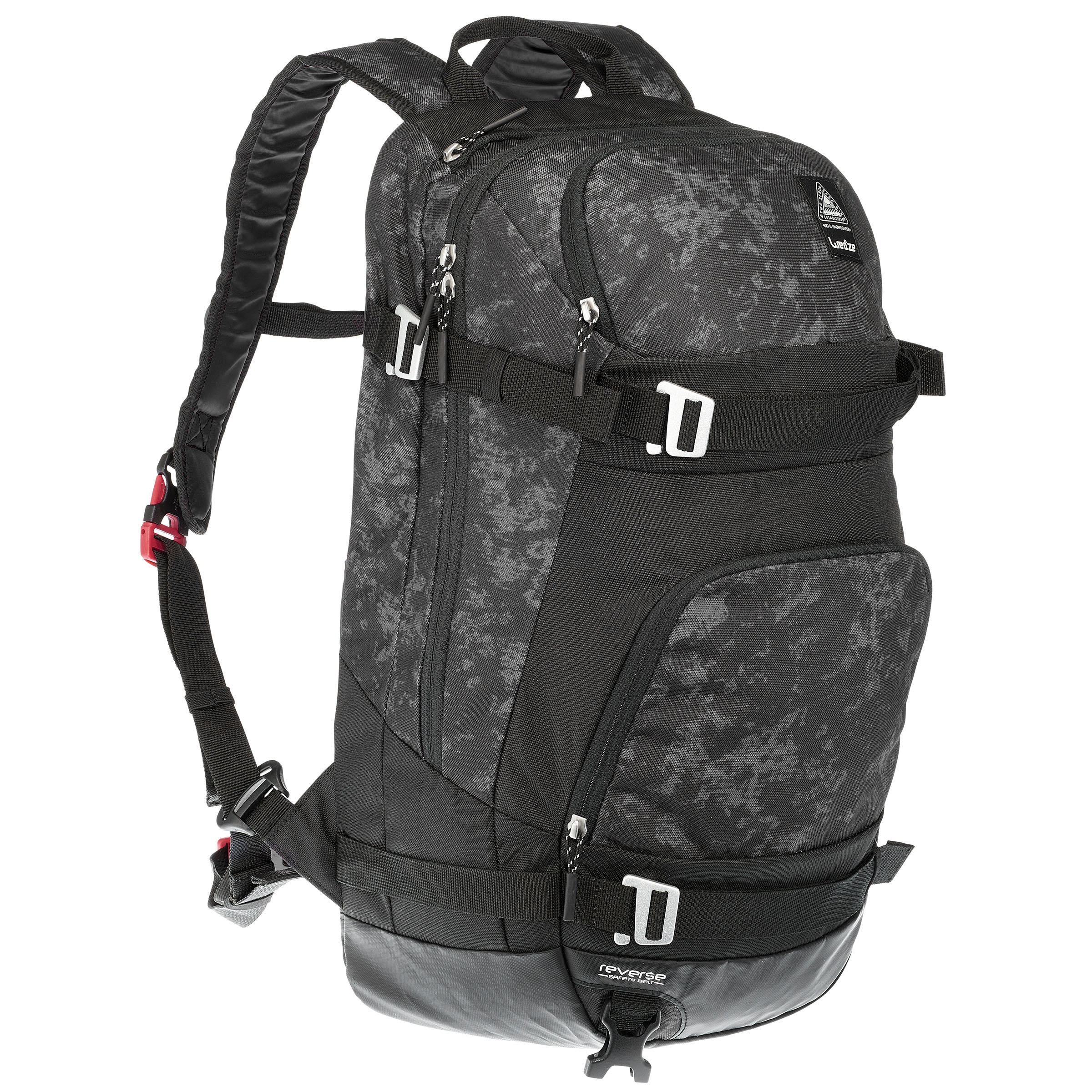 FS500 Reverse Skiing Backpack - Black
