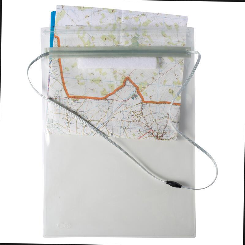 Porte-carte souple pour randonnée et course d'orientation