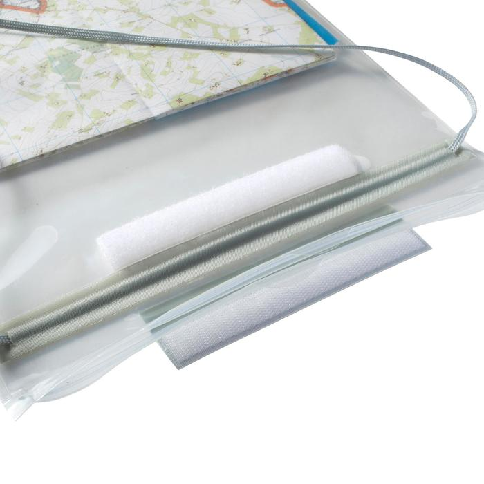 Portamapas flexible para senderismo y carreras de orientación