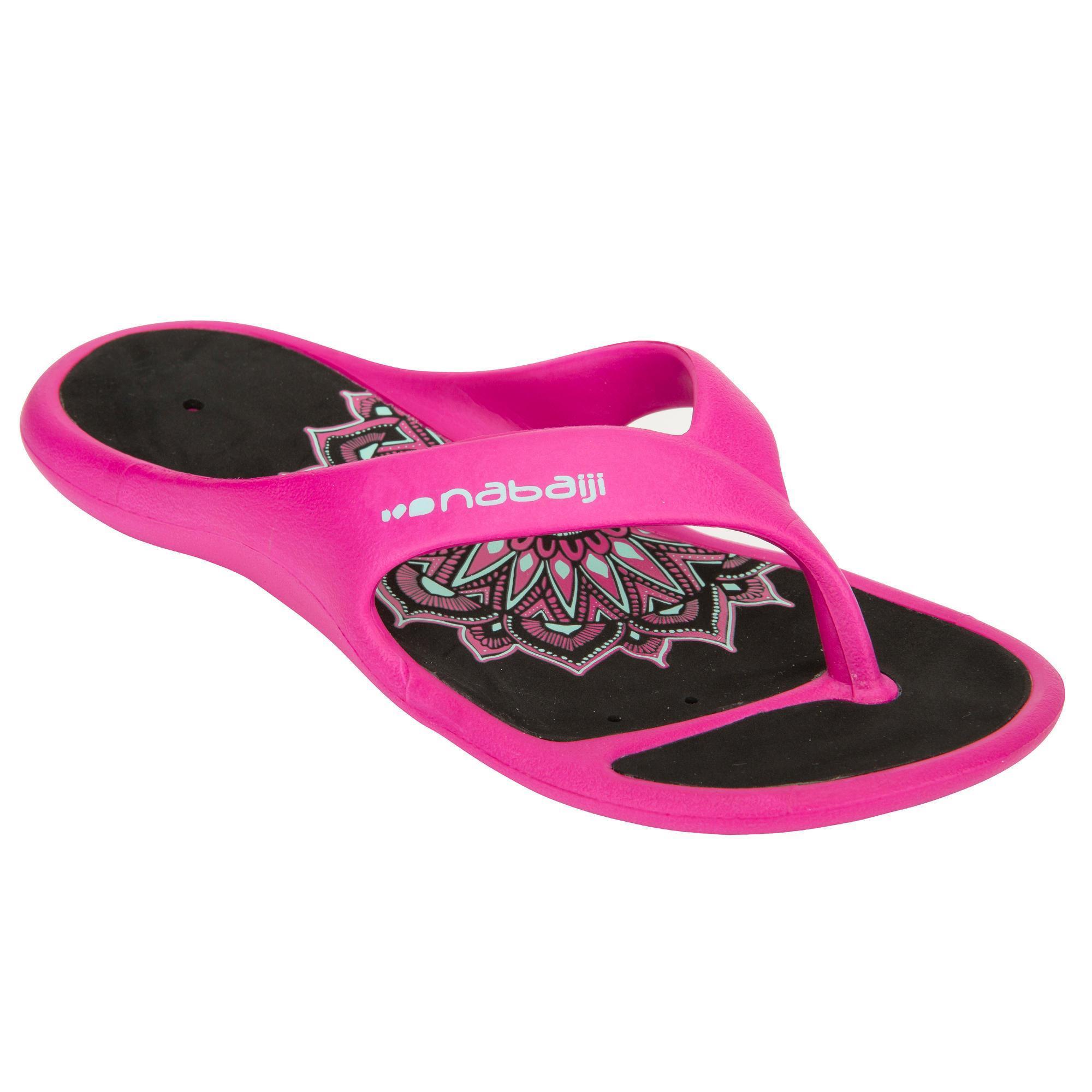 Nabaiji Badslippers Tongga SFP 500 dames roze Andi