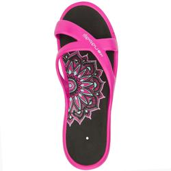 TONGS NATATION FEMME TONGA 500 ROSE ANDI