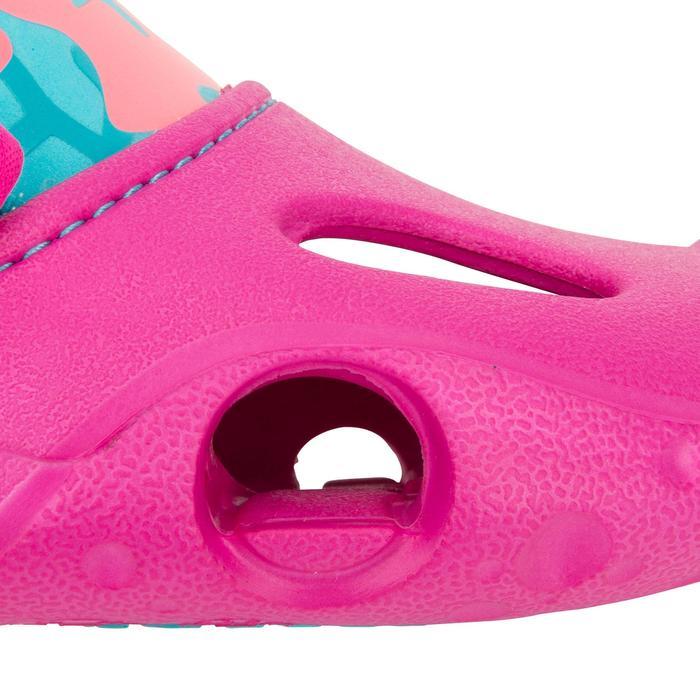 Badsandalen meisje 100 roze zeemeermin