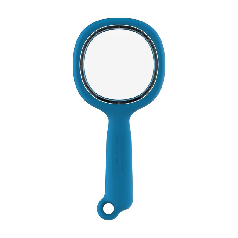 Kid's Hiking Magnifying Glass, 3x Magnification - Blue